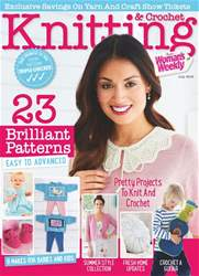 Knitting & Crochet issue July 2018