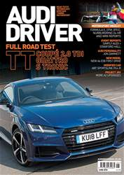 Audi Driver issue June 2018