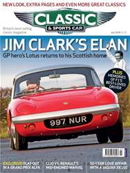 Classic & Sports Car issue July 2018