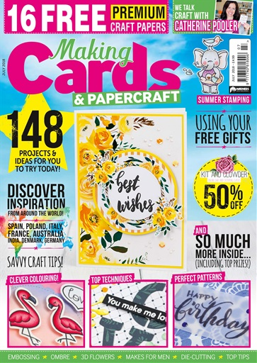 Making Cards & Paper Craft Preview