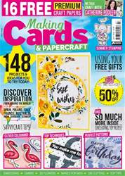 Making Cards & Paper Craft issue July 2018