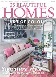 25 Beautiful Homes issue July 2018