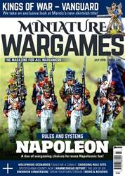 Miniature Wargames issue July 2018 (423)