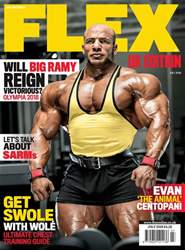 Flex Magazine issue July 2018