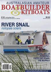 Australian Amateur Boat Builder issue AABB 102