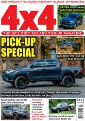 4x4 Magazine incorporating Total Off-Road issue July 2018