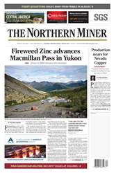 The Northern Miner issue The Northern Miner