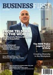 Business First Magazine Magazine Cover