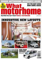 What Motorhome magazine issue Innovative New Layouts issue - Summer 2018