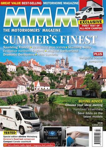 MMM magazine issue Summer's Finest issue (Summer 2018)