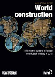 World Construction 2018 issue World Construction 2018