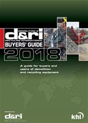 Demolition & Recycling International Buyers' Guide 2018 issue Demolition & Recycling International Buyers' Guide 2018