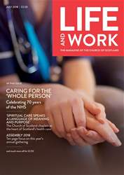 Life and Work issue July 2018