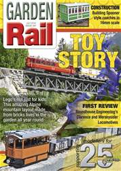 Garden Rail issue July 2018