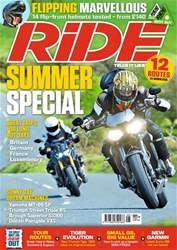 Ride issue August 2018