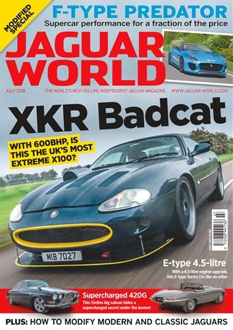 Jaguar World issue July 2018