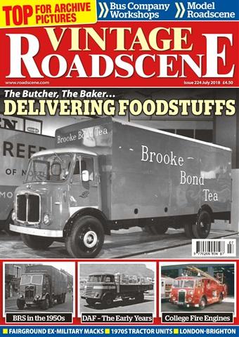Vintage Roadscene issue July 2018