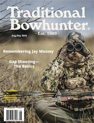 Traditional Bowhunter Magazine issue Aug/Sep 2018