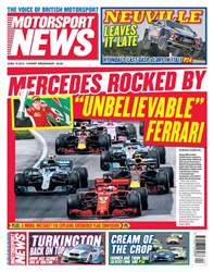 Motorsport News issue 13th June 2018