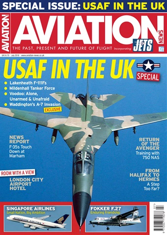 Aviation News incorporating JETS Magazine issue   July 2018