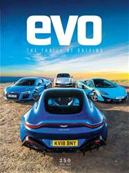 Evo issue August 2018