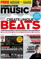 Computer Music issue August 2018