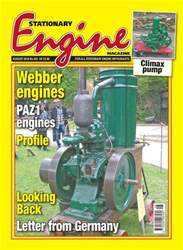 Stationary Engine issue August 2018