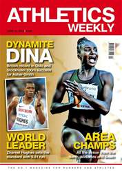 Athletics Weekly issue Athletics Weekly