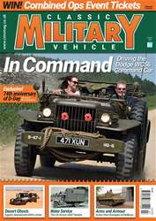 Classic Military Vehicle issue   July 2018