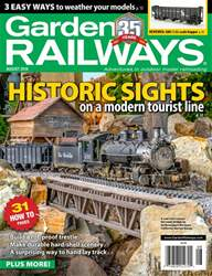 Garden Railways issue August 2018