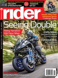 Rider Magazine issue August 2018