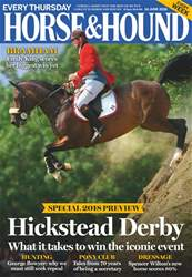 Horse & Hound issue 14th June 2018