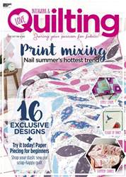 Love Patchwork & Quilting issue Issue 62