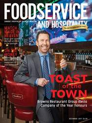 Foodservice and Hospitality Magazine Cover