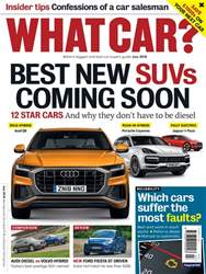 What Car Magazine issue July 2018