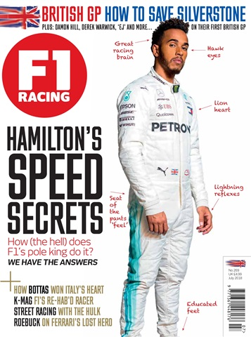 F1 Racing issue July 2018