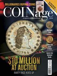 COINage issue July 2018