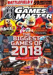 GamesMaster issue July 2018