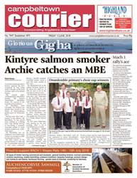 Campbeltown Courier issue 15th June 2018