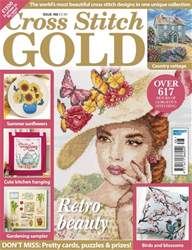 Cross Stitch Gold issue June 2018
