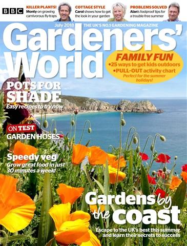 Gardeners' World issue July 2018