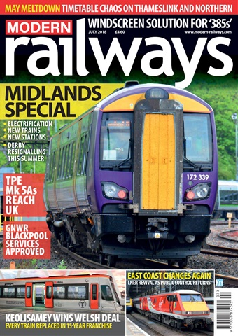 Modern Railways issue   July 2018