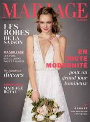 Mariage Quebec issue Fall/Winter 2018