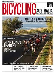 Bicycling Australia issue Jul-Aug 2018