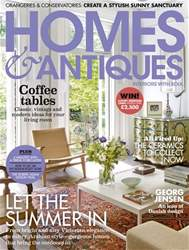 Homes & Antiques Magazine issue August 2018