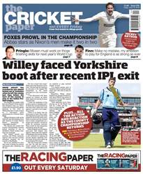 The Cricket Paper issue 15th June 2018