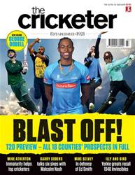 The Cricketer Magazine Magazine Cover