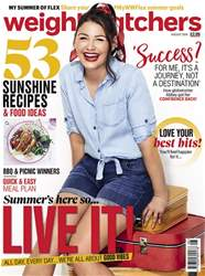 Weight Watchers magazine UK issue August 2018