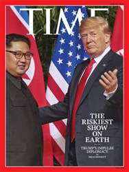 Time Magazine issue 25th June 2018