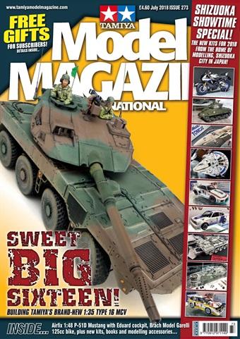 Tamiya Model Magazine issue 273 July 2018